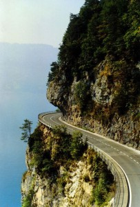 Una vista magnifica en una ruta unica.