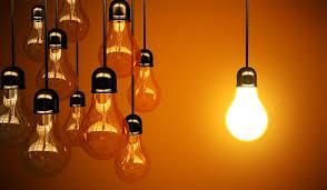 energy image, lightbulbs