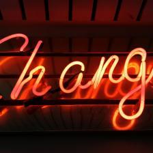 El cambio tiene un precio